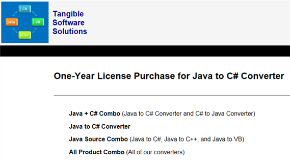 https://www.tangiblesoftwaresolutions.com/order/order-java-to-csharp.html