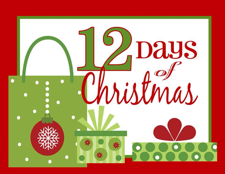 Name the 12 gifts given in the 12 days of christmas