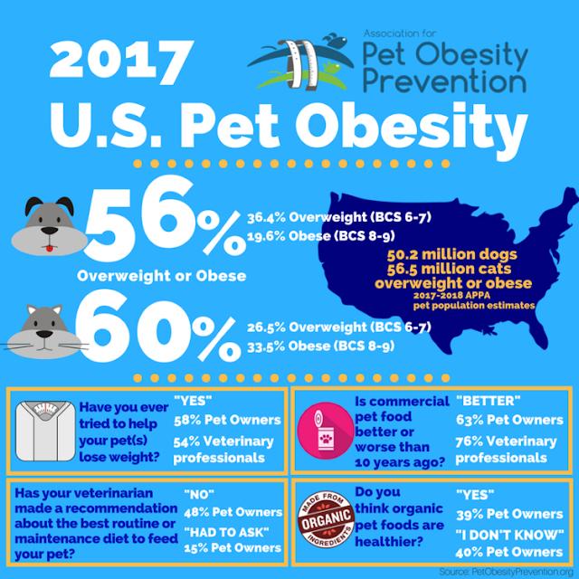 2017 U.S. Pet Obesity Chart
