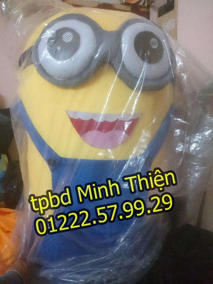 Nhận Cho Thuê Đồ Mascot Minion Giá Rẻ Tại Tphcm