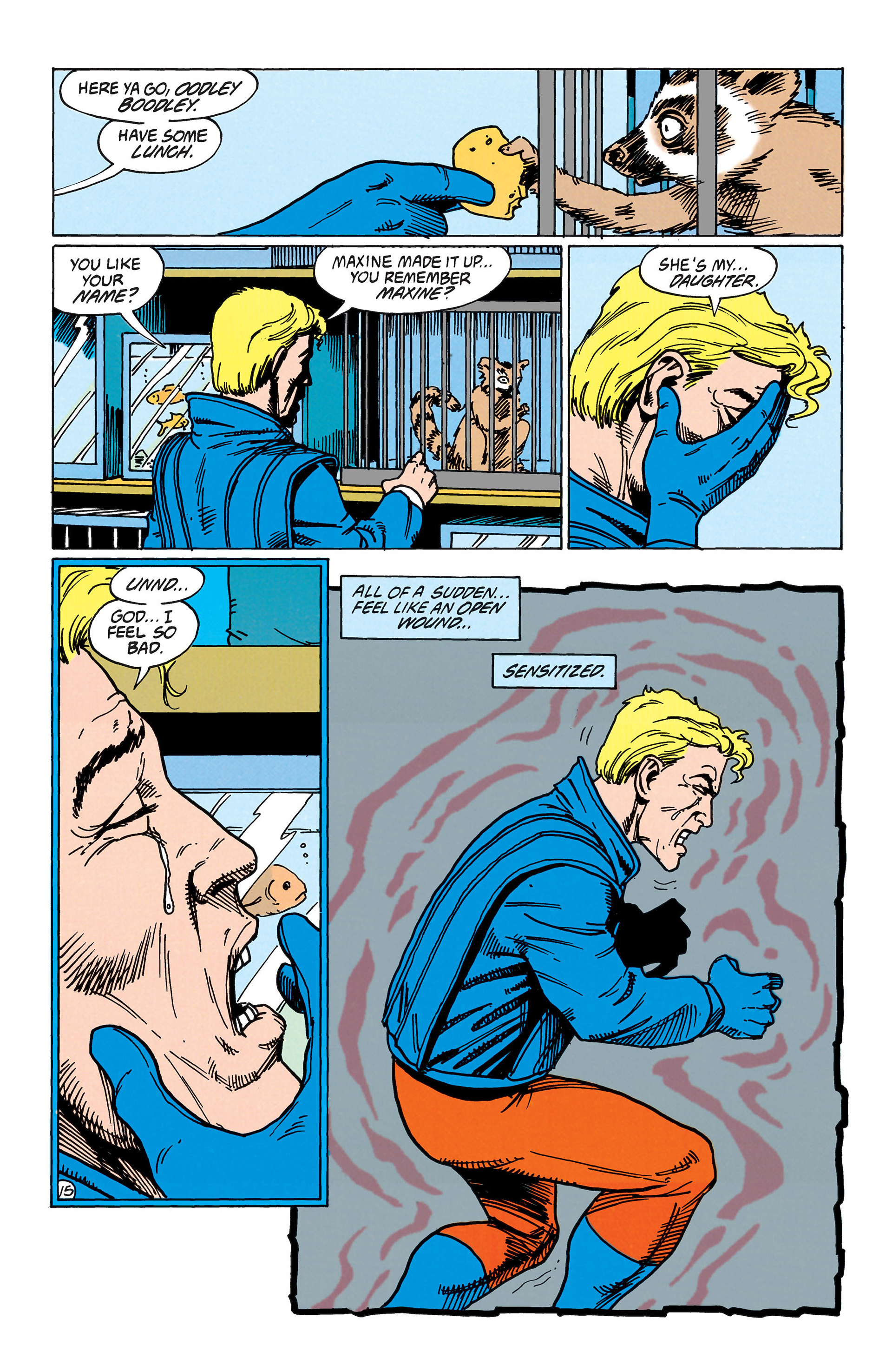 Read online Animal Man (1988) comic -  Issue #38 - 16