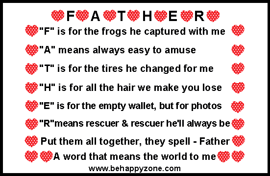 The gallery for --> I Love You Daddy Poems In Spanish