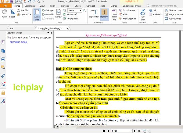 Download Foxit Reader Mới Nhất - Phần mềm đọc file PDF miễn phí nhẹ nhất e