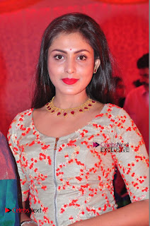 Actress Madhu Shalini Exclusive Stills in Party Dress at Vijay Karan Aashna Wedding  0001.JPG