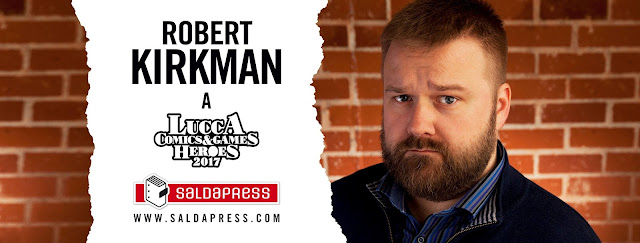 Robert Kirkman a Lucca Comics & Games 2017