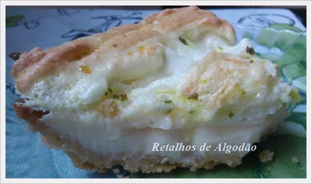 Torta de limão que é uma delícia e fácil de fazer