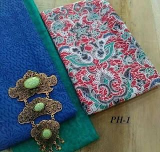 jual Kain batik adem motif solo paket embos paling murah