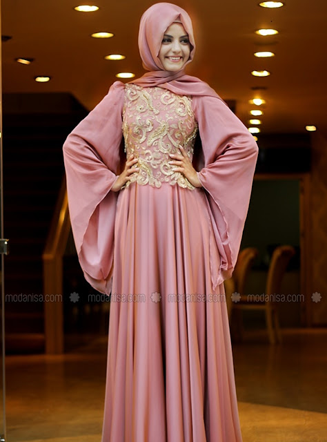 Model Kebaya Muslim Mewah Untuk Pesta Terbaru