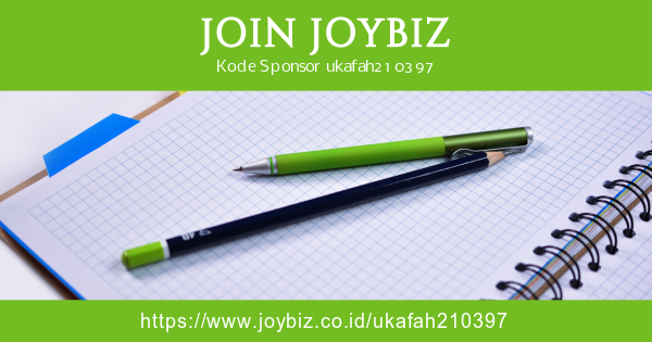 Cara Daftarkan Member Baru di Joybiz