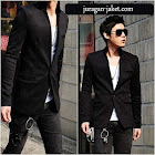 jas exclusive Black blazer BK02