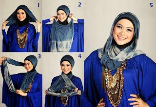 tips hijab style sesuai postur tubuh dan bentuk wajah