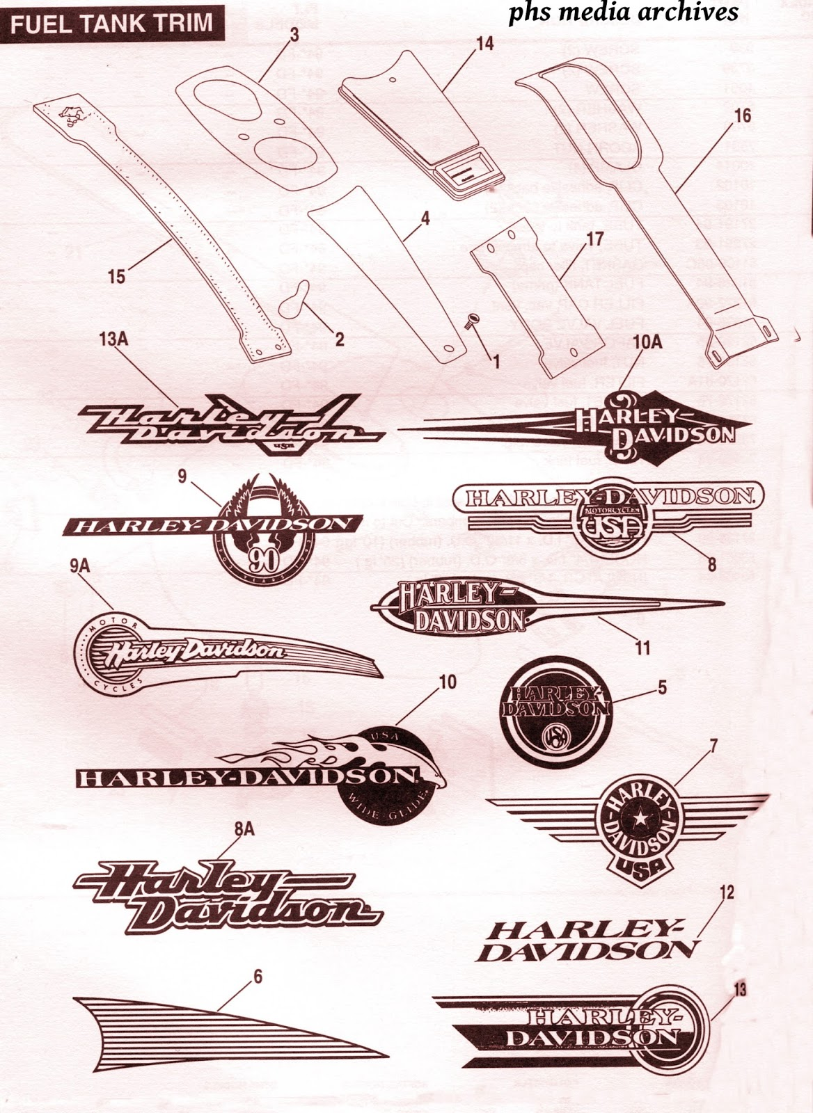 tech files 1993 94 harley davidson carb diagrams fuel tank logos 94 harley carburetor diagram [ 1168 x 1600 Pixel ]