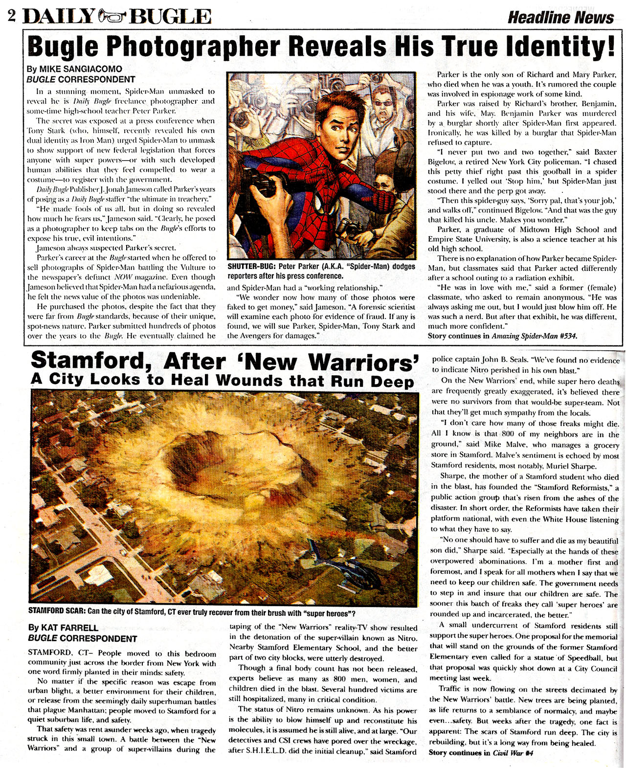 Read online Daily Bugle (2006) comic -  Issue #0 - 2