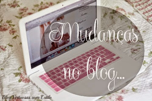 Blog | Mudanças no Blog