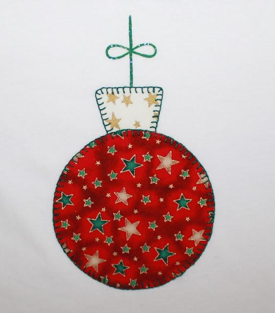 camiseta navidad bola del árbol