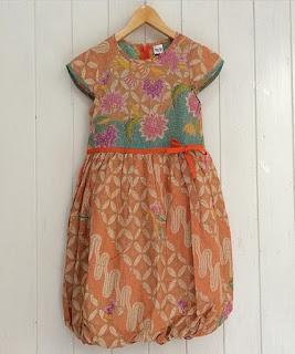 dress batik anak anak