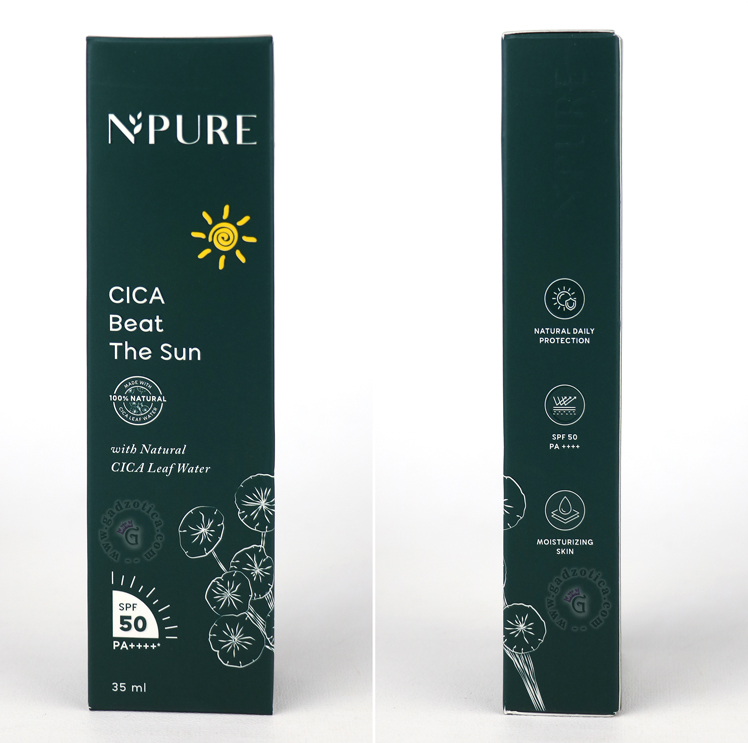 Review N'PURE Cica Beat The Sun