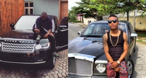 Top 10 Nigerian Musicians With The Most Expensive Cars