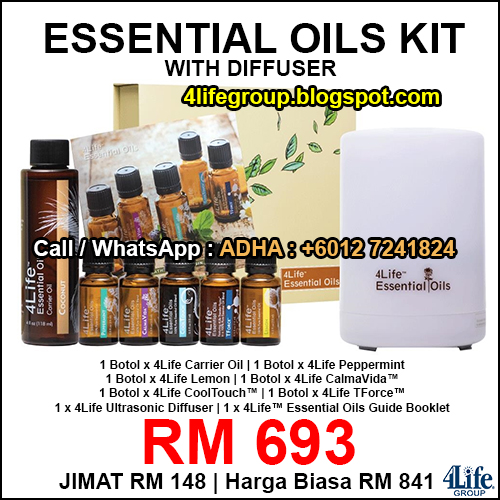 foto 4Life Essential Oils Kit With Diffuser
