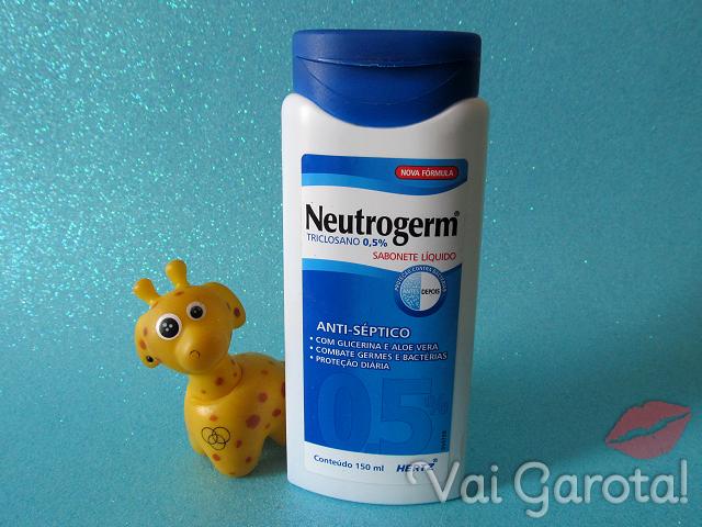 Sabonete Líquido Neutrogerm Triclosano 0,5%