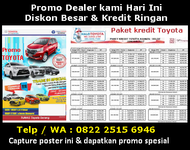 Toyota Purwodadi Dealer Promo