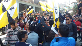 JAP student union in kalimpong