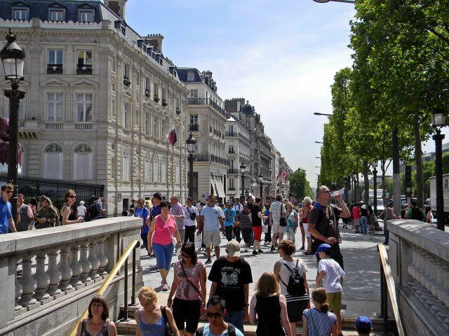 spacery po Paryżu, ważne miejsca