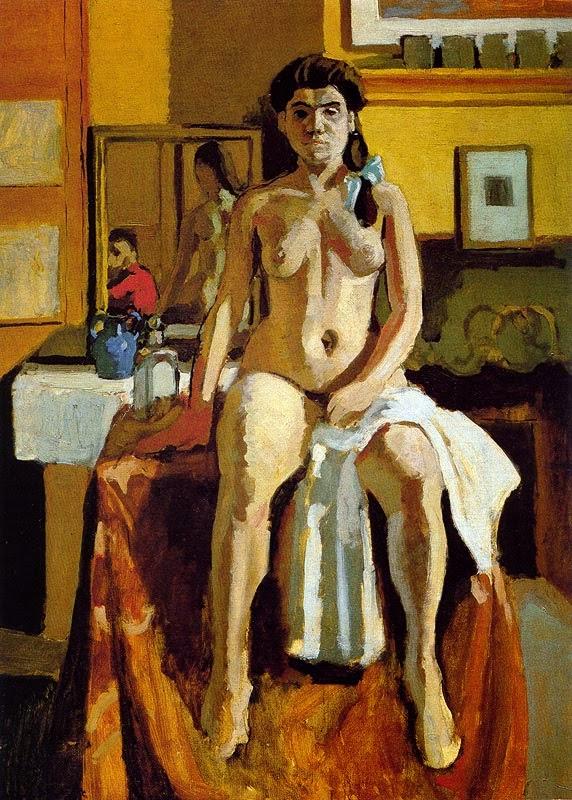Carmelina - Pinturas de Matisse, Henri - (Fauvismo) Francês
