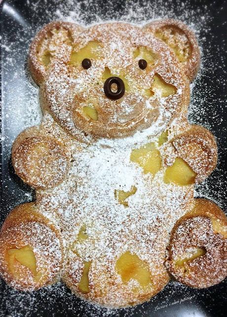 Ricetta per bambini Apple Bear