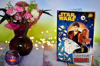 """""""Hans Solo: Gwiezdne wojny - historie. Nakljkowe mozaiki"""" książki dla dzieci #28"""