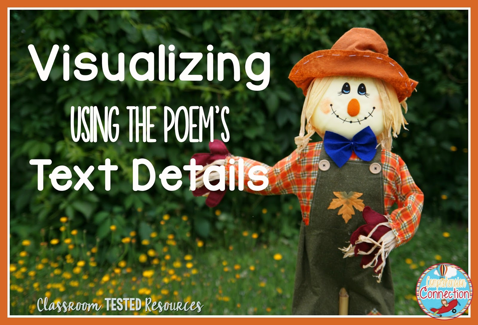 One of the most important skills readers need is visualizing. If kids struggle with visualizing, it makes it very hard to comprehend. There are ways to work on it though. Check out this post for using visualizing with poetry.