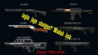 Tips dan trik untuk menjadi jago memakai senjata shotgun di Game Point blank