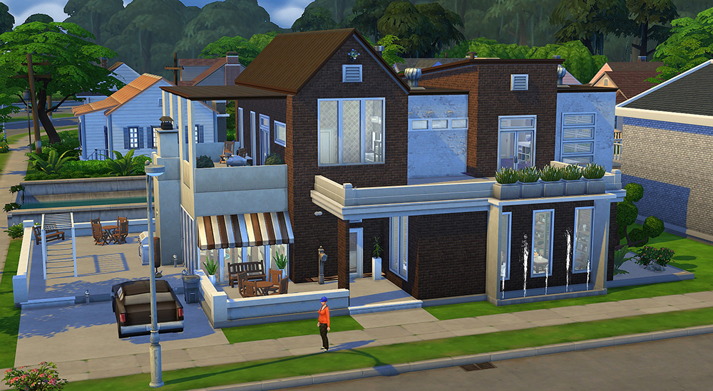 Using Sims  Build To Model A Home