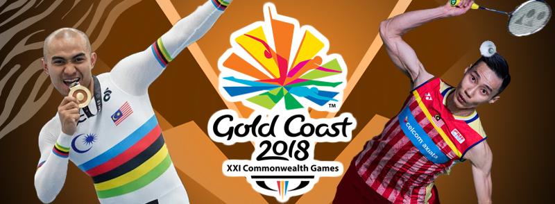 Atlet Malaysia Sukan Komanwel 2018