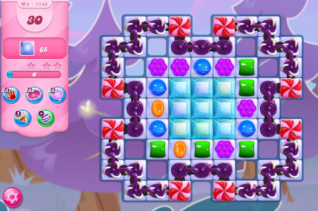 Candy Crush Saga level 7745