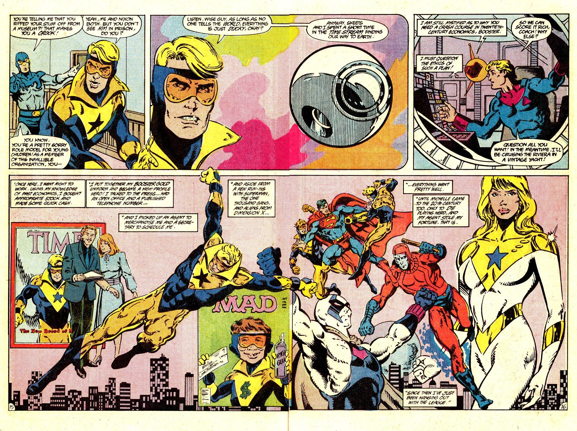 Read online Secret Origins (1986) comic -  Issue #35 - 22