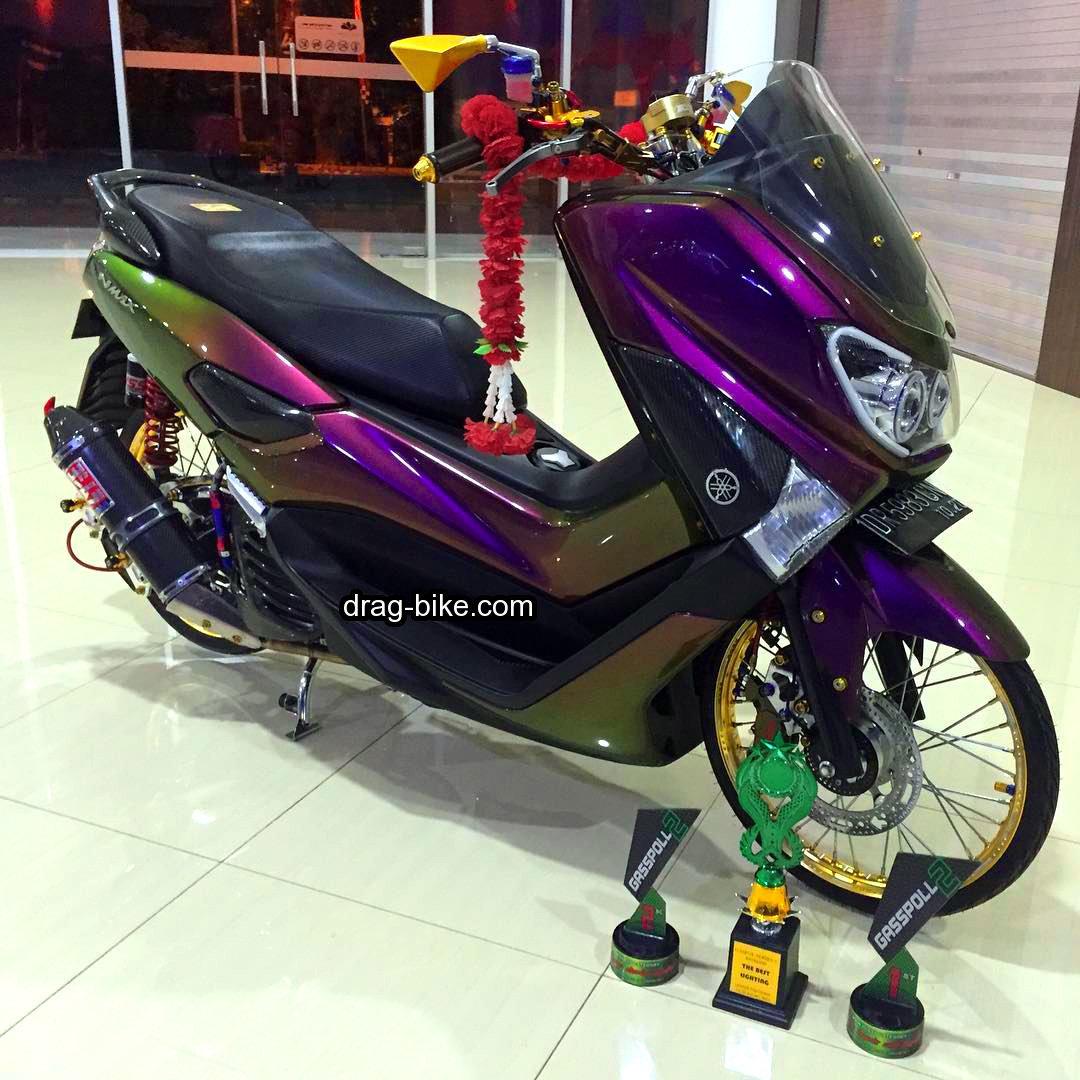 koleksi  modifikasi warna motor yamaha nmax
