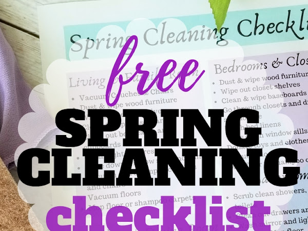 How to Spring Clean + Free Printable Checklist