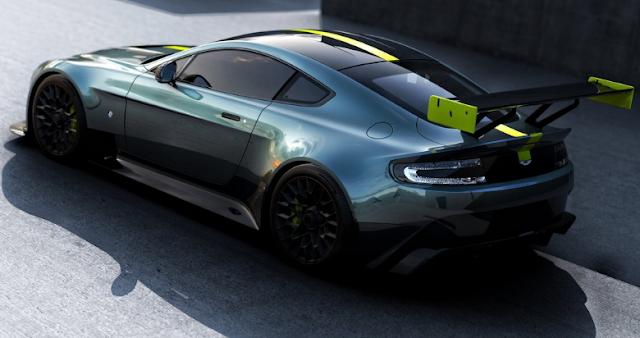 2018 Aston Martin Vantage AMR Pro Back