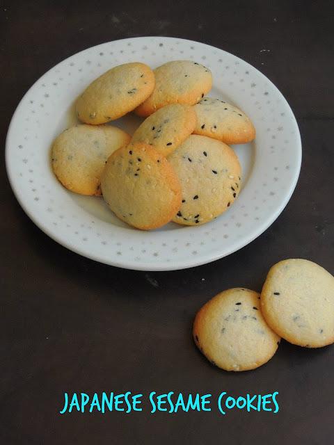 Japanese Sesame cookies