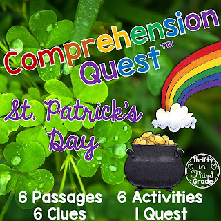 https://www.teacherspayteachers.com/Product/Comprehension-Quest-St-Patricks-Day-3666418