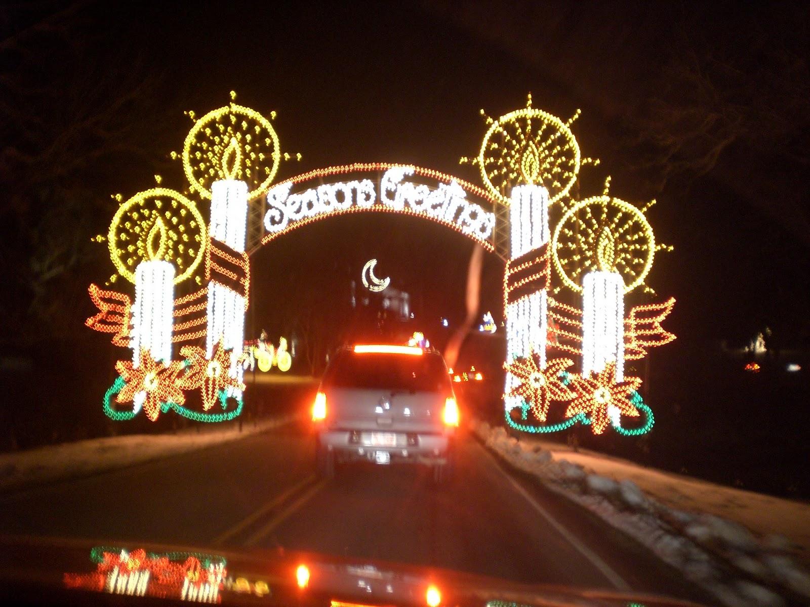 Tanglewood christmas lights nc for The tanglewood