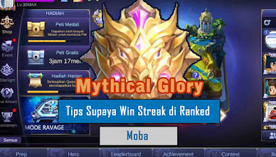 Tips Bermain Mobile Legends Supaya Win Streak