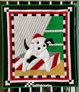 Santa's Helper quilt