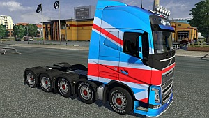 10×8 chassis mod for Volvo 2012