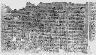 IPUWER PAPYRUS The Ten Plagues of Egypt..