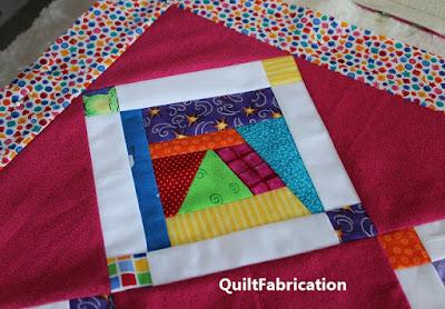 Crumb Jumble quilt girl version