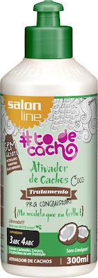 Ativador de Cachos Salon Line