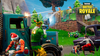 Download Fortnite  Android Gameplay Terbaru