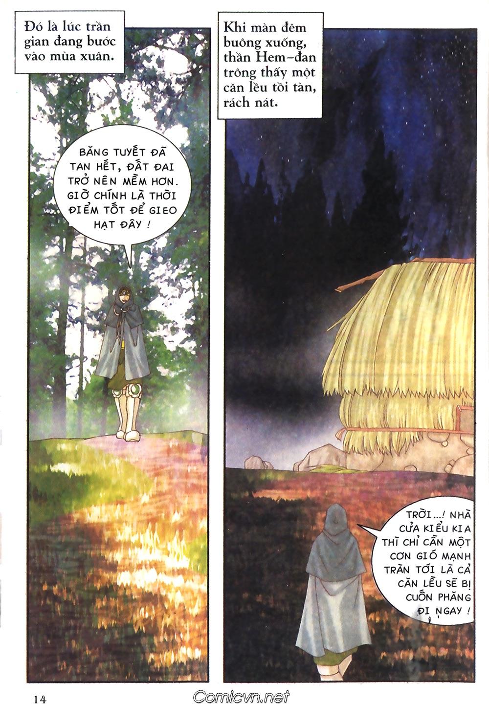 Thần thoại Bắc Âu - Chapter 38: Sứ mệnh đặc biệt - Pic 15